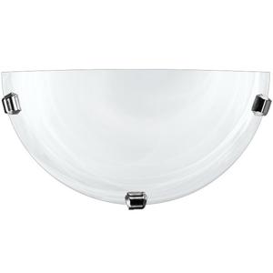 Nástenné svietidlo Lampex 211/K1 DUNA biela