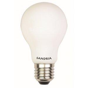 LED žiarovka Sandy LED  E27 S2120 8W OPAL teplá biela