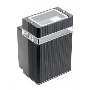 Nástenné vonkajšie svietidlo GTV Nessa LD-NESSAGU10J-20 IP54 50W čierna