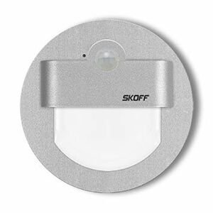 LED nástenné svietidlo Skoff Rueda hliník teplá 10V MJ-RUE-G-H s čidlom pohybu