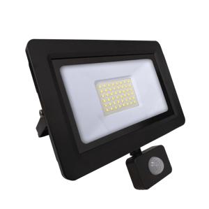Vonkajší LED reflektor s čidlom Max-Led 0793 SUPRA II PIR 50W 6000K