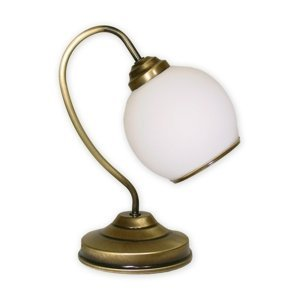 Stolná lampička Lemir 338/L1 KORAL patina
