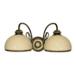 Nástenné svietidlo Lemir 511/K2 DELTA patina