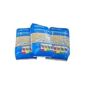 Filtračný piesok - 3 x 25 kg