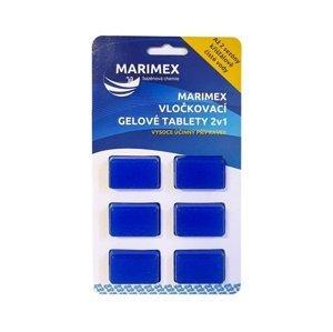 Vločkovacia gélová tableta 2v1 Marimex