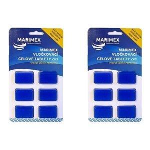 Výhodná sada gélových vločkovacích tabliet 2v1 Marimex