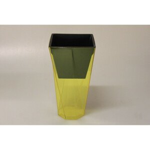 Kvetináč Urbi TWIST 14cm žltý