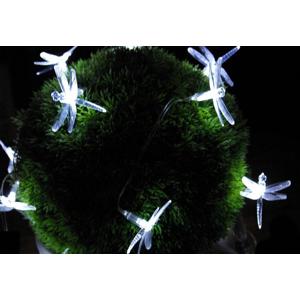 Záhradné solárne dekoratívne LED osvetlenie - Vážky 24 LED diód