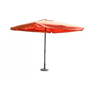 Štvorcový slnečník terakota 270 x 270 cm