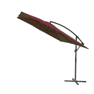 Štvorcový slnečník 8080 bočný bordó 270 x 270 cm