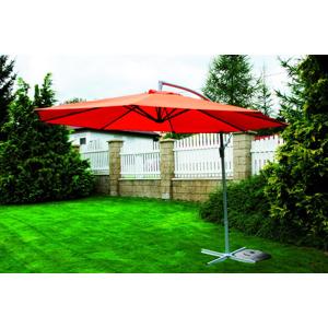 Záhradný slnečník EXCLUSIVE bočný - terracota