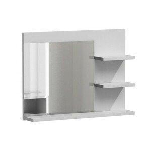 Zrkadlo do kúpeľne LUMO L3 biely mat