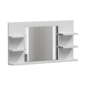Zrkadlo do kúpeľne LUMO L5 biely lesk