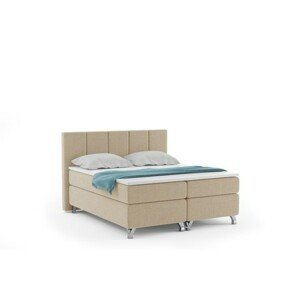 Čalúnená posteľ ATLANTIC vrátane úložného priestoru 180x200