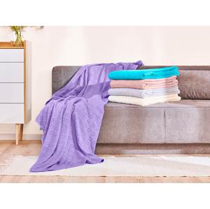 Bavlnená deka Dormeo Terry, 220x220 cm, béžová