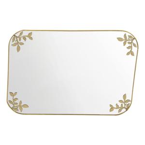 Dekoratívne zrkadlo v zlatej farbe A Simple Mess