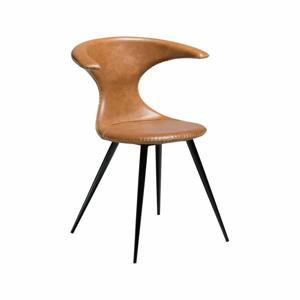 Svetlohnedá kožená stolička DAN-FORM Denmark Flair