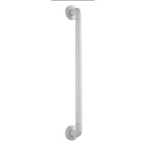 Biele bezpečnostné držadlo do sprchy pre seniorov Wenko Secura, dĺžka 64,5 cm