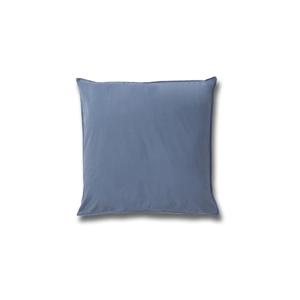 Modrá bavlnená obliečka na vankúš Casa Di Bassi Softtouch, 80×80cm