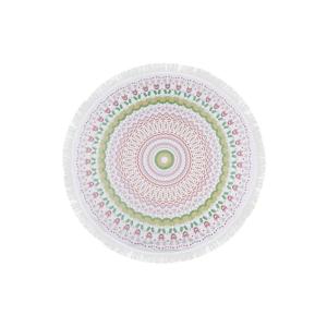 Farebná plážová osuška zo 100% bavlny Baloon,⌀150 cm