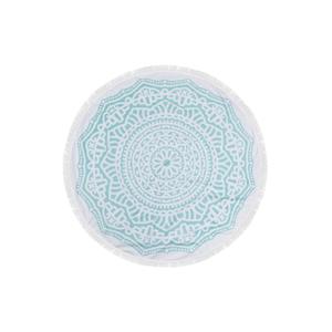 Farebná plážová osuška zo 100 % bavlny Bahamas,⌀150 cm