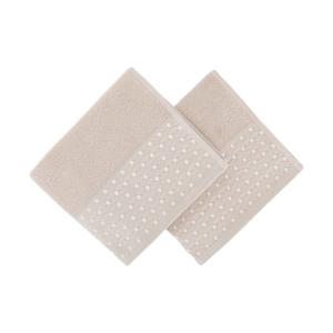 Sada 2 béžových uterákov Burumcuk, 50×90 cm