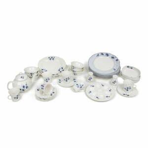 36-dielna súprava riadu z porcelánu Kütahya Porselen Farmer