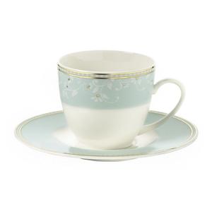 Sada 6 porcelánových šálok na kávu s tanierikom Kutahya Lighthouse, 50 ml