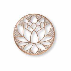 Kovová nástenná dekorácia Graham & Brown Lotus Blossom