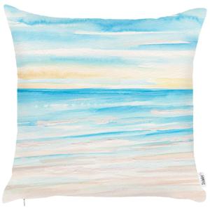 Obliečka na vankúš Mike&Co.NEWYORK Sand Beach, 43 × 43 cm