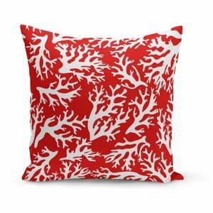 Vankúš Red Coral Reef, 43×43 cm