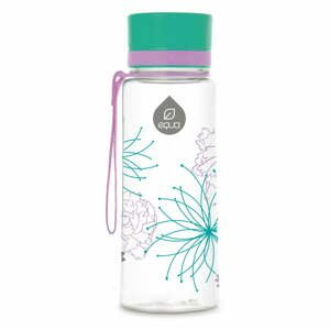 Plastová fľaša Equa Flowers, 0,4 l