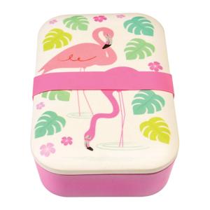 Bambusový box na desiatu Rex London Flamingo Bay