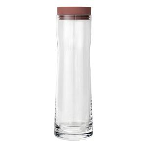Karafa na vodu s červeným vekom Blomus Splash, 1 l