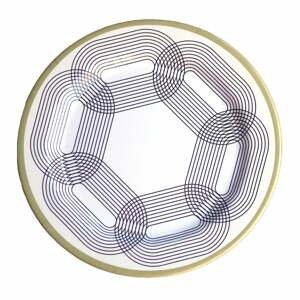 Sada 6 melamínových tanierov Sunvibes Maillon Beige, ⌀ 25 cm