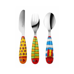 3-dielna detská príborová sada Vialli Design Pop