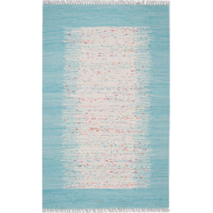 Modrý koberec Eco Rugs Akvile, 80×150 cm