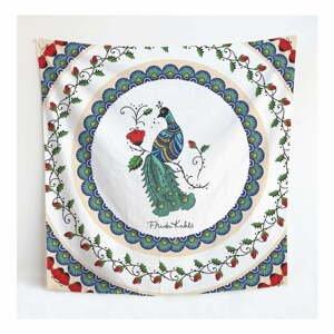 Nástenná tapiséria Madre Selva Frida Mandala, 140×140 cm