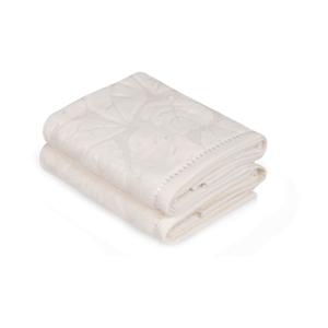 Sada 2 krémových uterákov Madame Coco Velver, 50×90 m