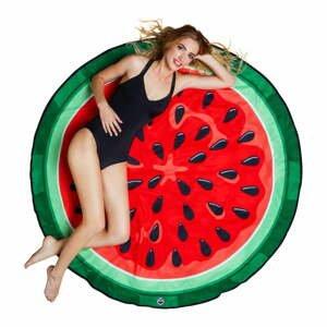 Plážová deka v tvare melóna Big Mouth Inc., ⌀152cm