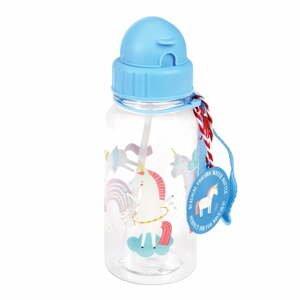 Modrá fľaša na vodu Rex London Magical Unicorn
