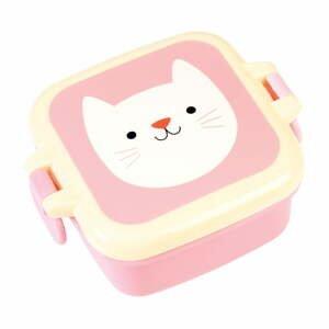 Ružový desiatový box Rex London Cookie the Cat