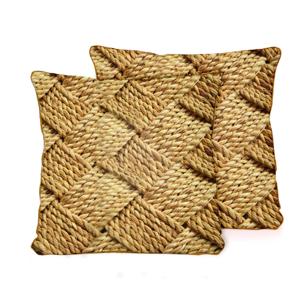 Obliečka na vankúš z mikrovlákna Surdic Cord, 45×45 cm