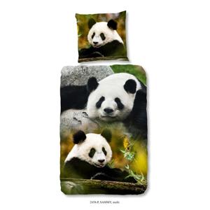 Detské obliečky na jednolôžko z čistej bavlny Good Morning Sammy, 140 × 200 cm