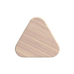Háčik z dubového dreva na kabáty HARTÔ Leonie, Ø10 cm