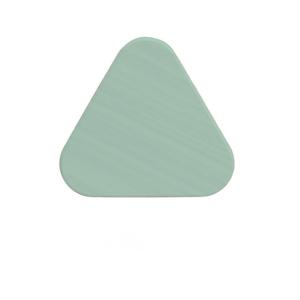 Zelený háčik z dubového dreva na kabáty HARTÔ Leonie, Ø10 cm