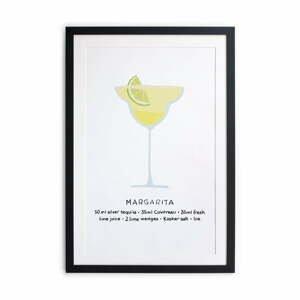 Zarámovaný plagát Really Nice Things Margarita, 40 × 50 cm