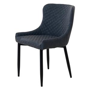 Sivá čalúnená stolička Unique Furniture Ottowa