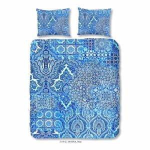 Obliečky na dvojlôžko z bavlneného saténu Descanso Entrada, 200×240 cm