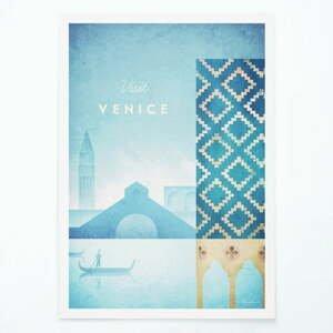 Plagát Travelposter Venice, A3